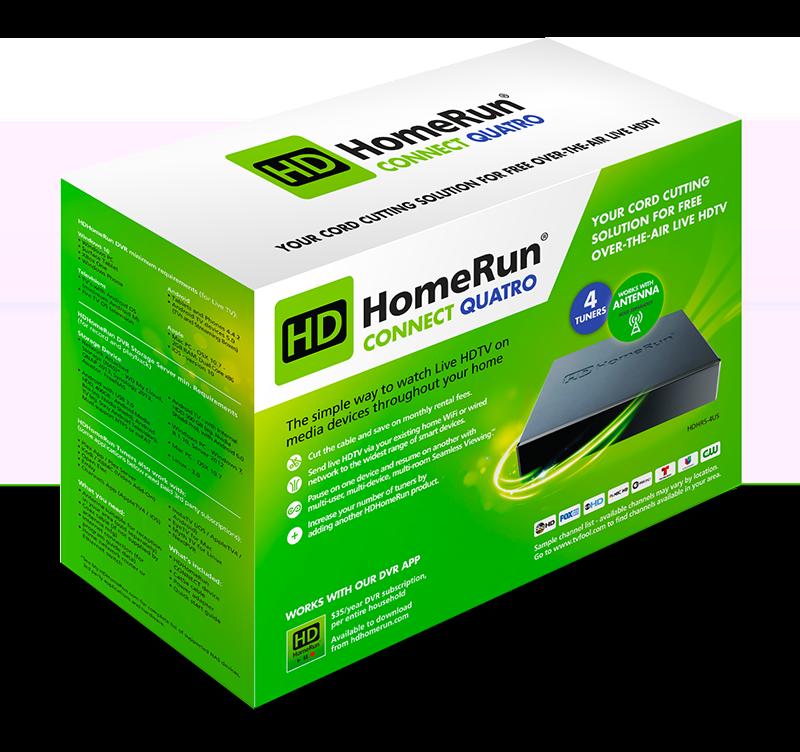 HDHomeRun CONNECT QUATRO - Silicon Dust